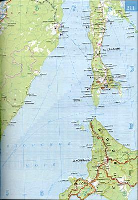 30км сахалин карта автомобильных дорог