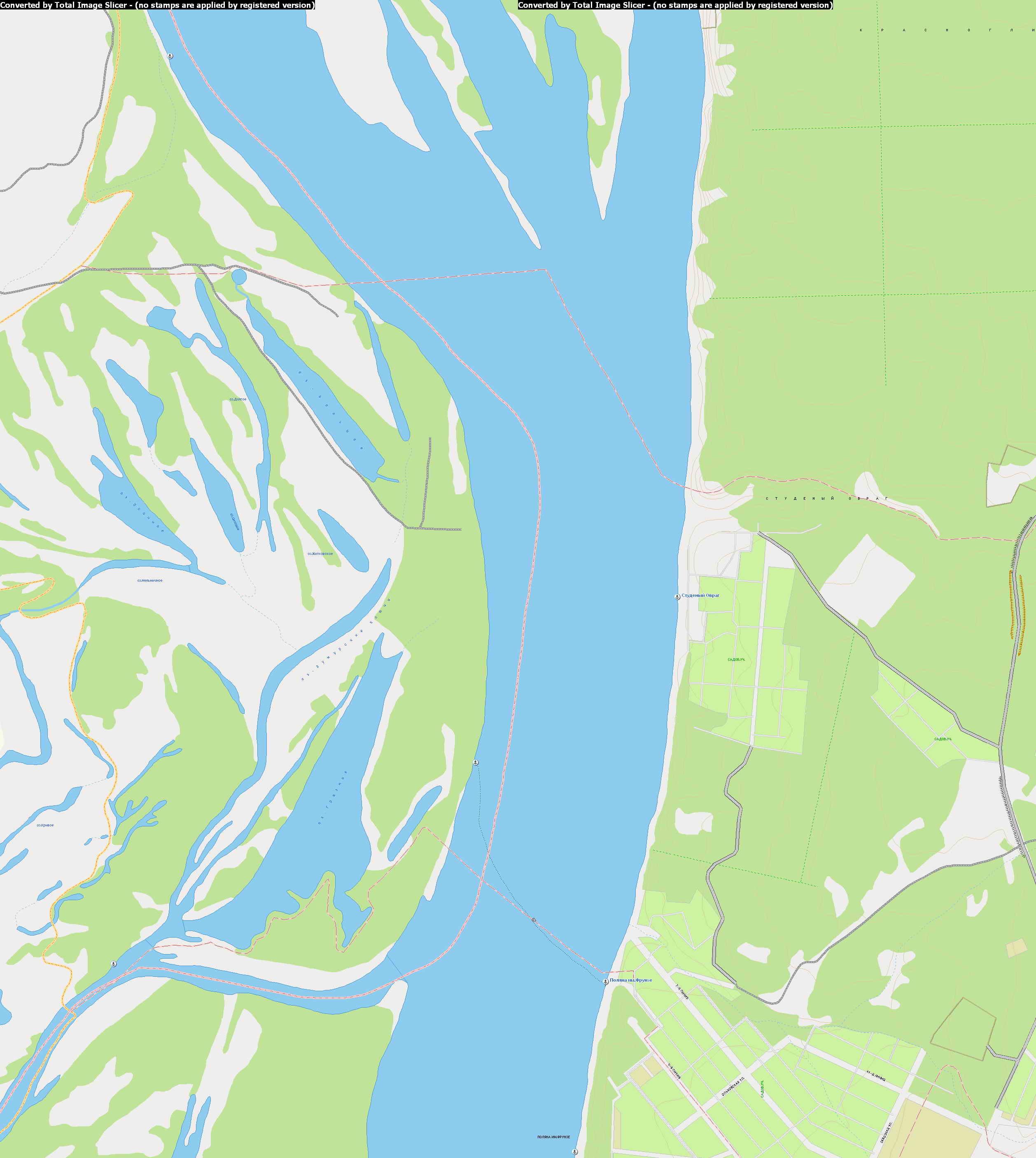 Карта самары 1см 105м подробная карта