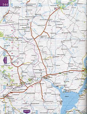 Карта Ростовской области по районам