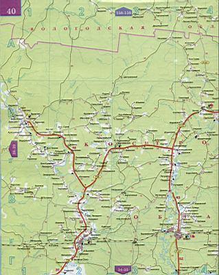 Ростовская область - карта