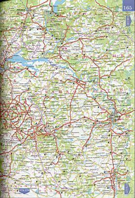 Карта республики татарстан 1см 15км