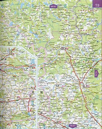 Карта смоленской области 1см 5км карта