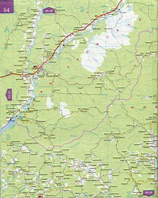 Автомобильная карта нижегородской