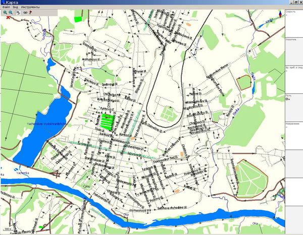 GPS карта г. Калуга. скачать