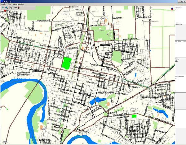 Краснодар карта города