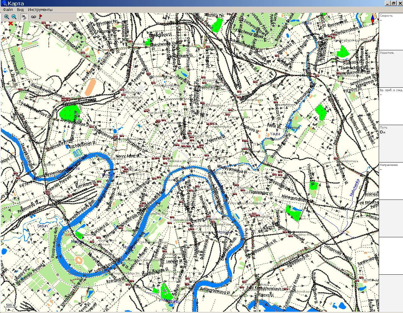 gps карты областей
