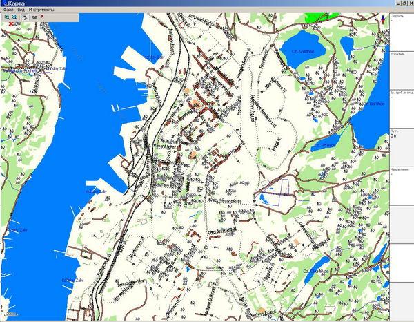 GPS карта г. Мурманск. скачать