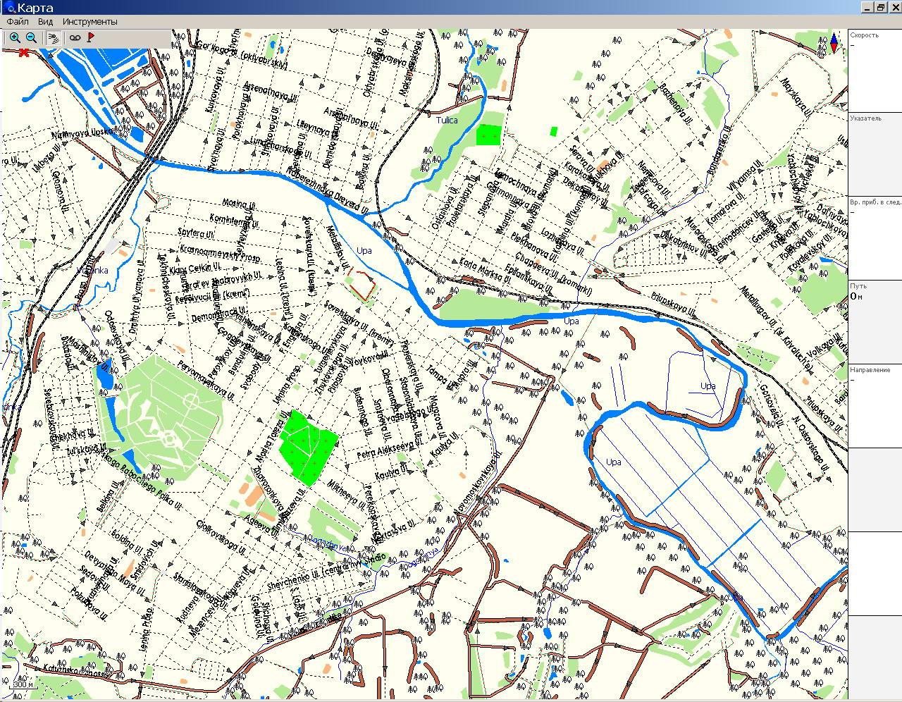 gps навигация карта москвы: