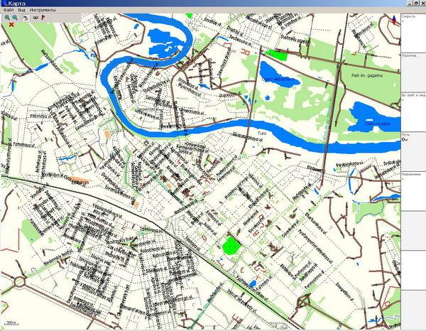 Тюмень, карта города