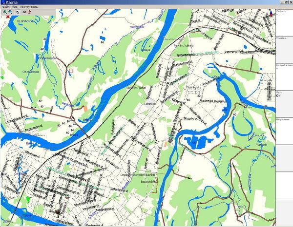 Карта города Уфа - Карты