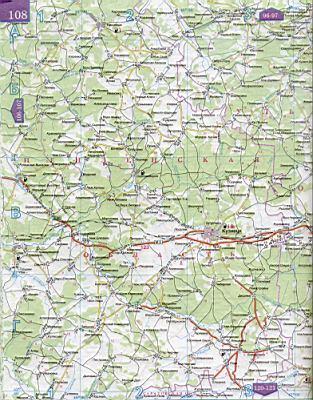 Карта автодорог юга россии