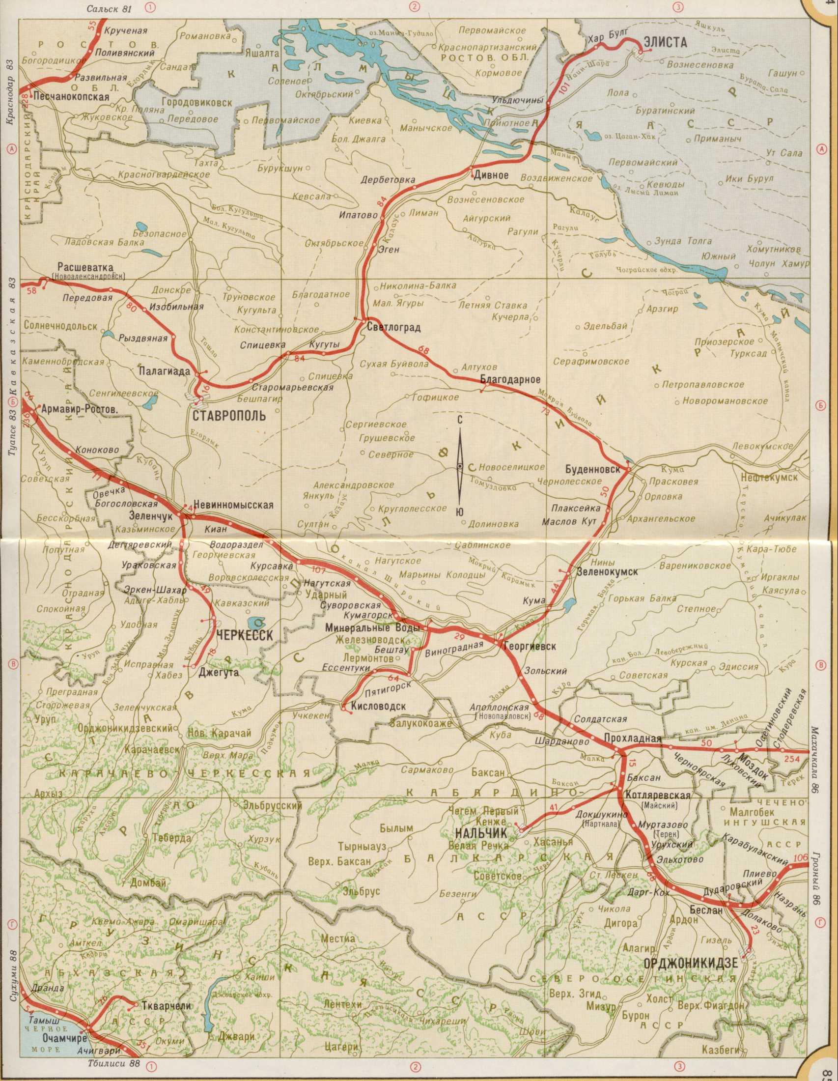 Карта железных дорог   Raster Maps