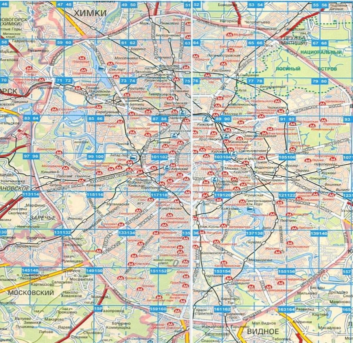 Карта Москвы с названиями улиц. Подробная карта улиц ...: http://rus-map.ru/257859.html