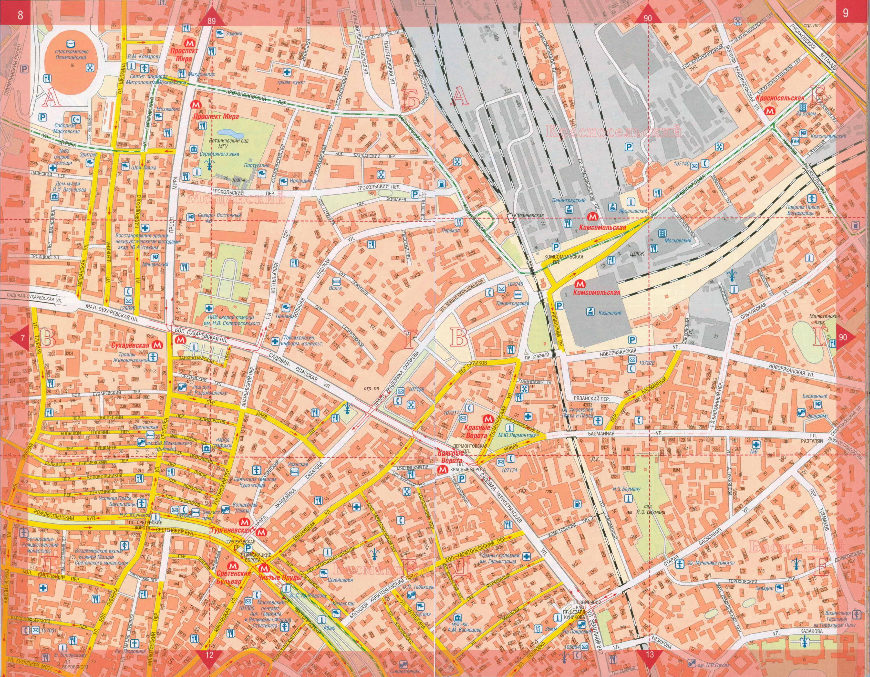 Карта центра Москвы. Подробная карта улиц центра города ...: http://rus-map.ru/map265220_0_1.htm