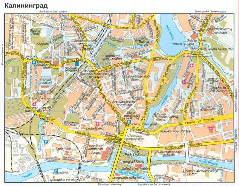 Карты Калининградской Области Высокого Качества
