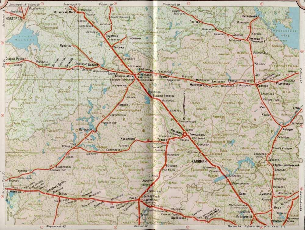Карта жд Московской области.