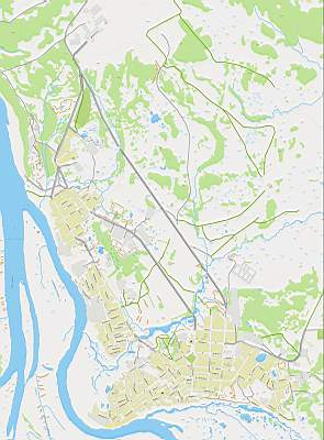 Карта г. Салехард с названиями улиц масштаба 1см:100м ...: http://rus-map.ru/545586.html