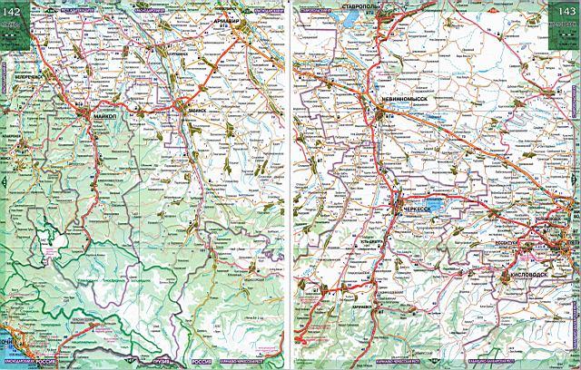 Карта дорог - Ставропольский