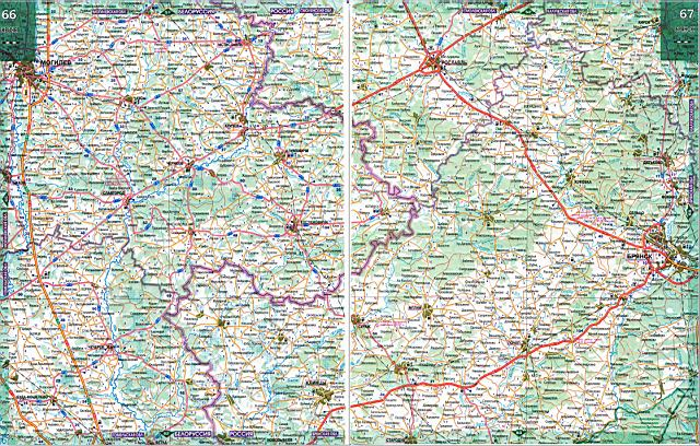 Спутниковая Карта Брянска