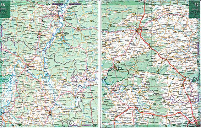 Карта дорог - Нижегородская