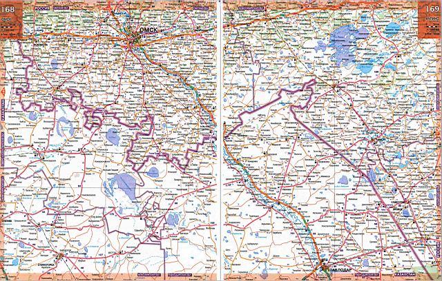 карта омской области скачать img-1